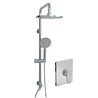 Riga ThermOne Retro-Up shower system