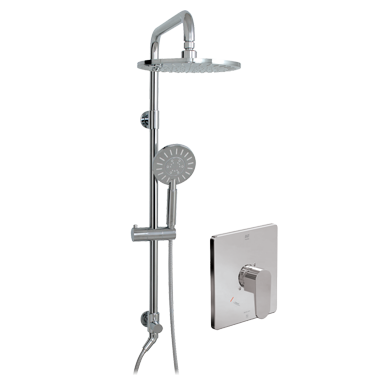 Misto ThermOne Retro-Up shower system