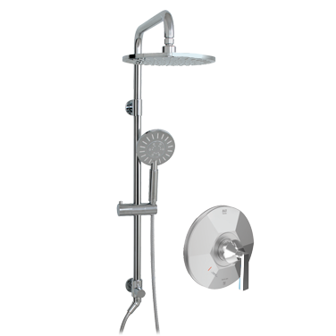 Baton Rouge ThermOne Retro-Up shower system