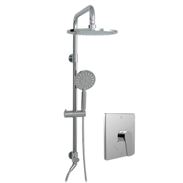 Via Dante ThermOne Retro-Up shower system